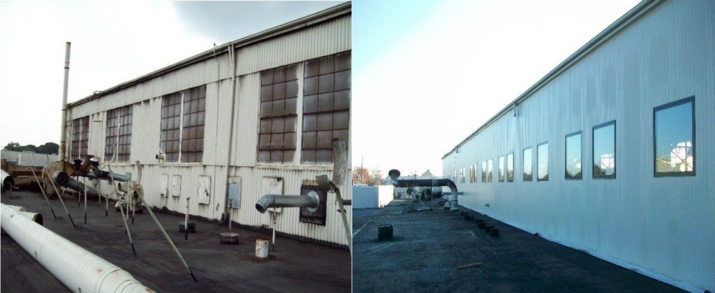 Metal Re-Siding and Wall Panel Repair