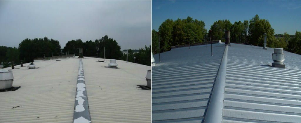 Metal Reroof with the MR-24 Roof System by Butler Manufacturing