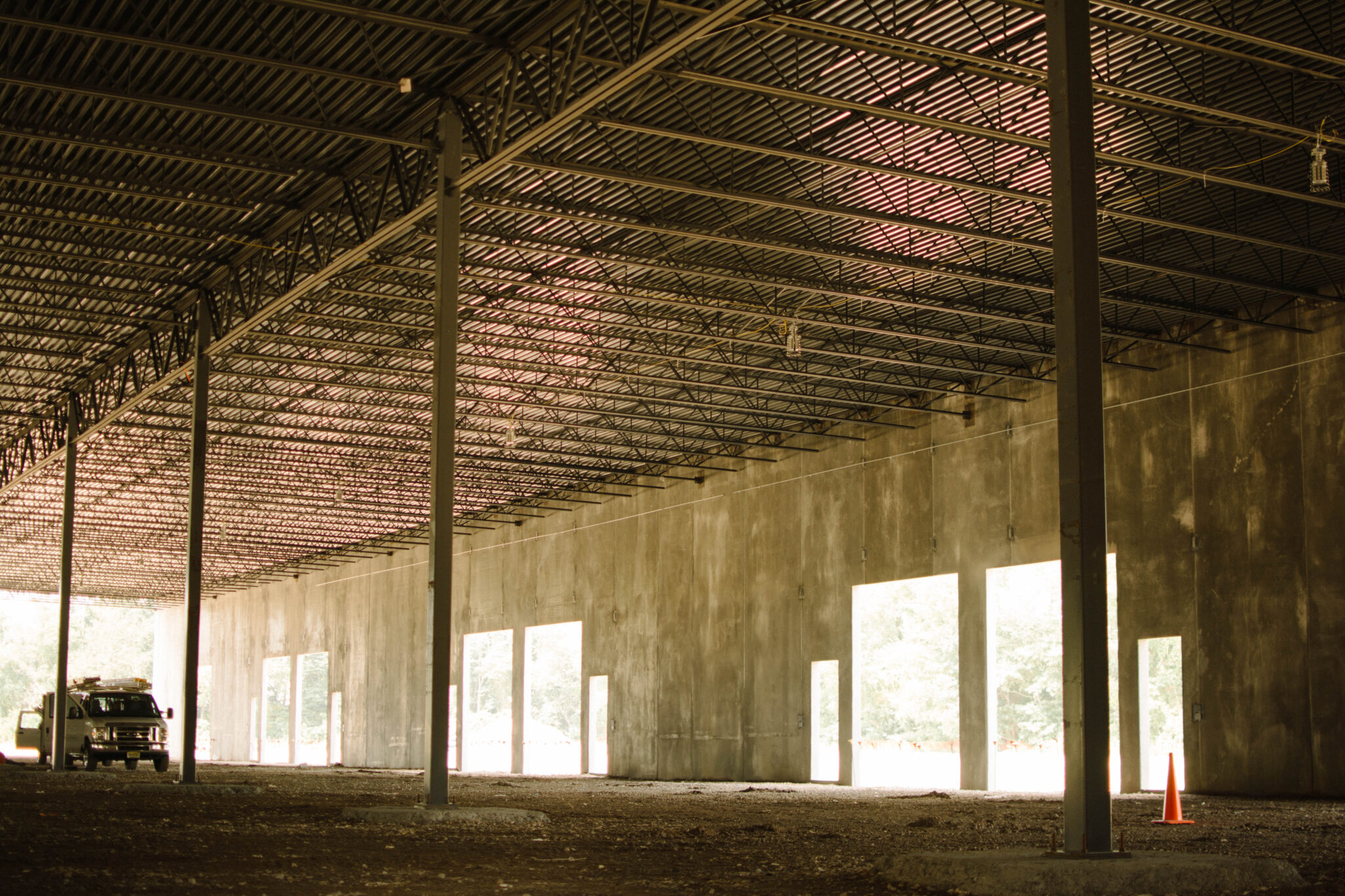 Warehouse Building Structure