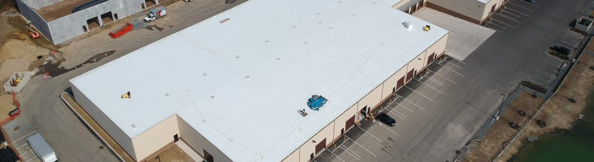 Warehouse Building Arial